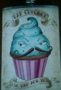 Accessories - Cupcake flask